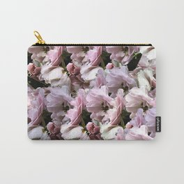 Pink Roses floral pattern Carry-All Pouch