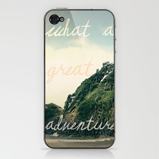 what a great adventure iPhone & iPod Skin