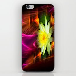 Wellness Water Lily 2 iPhone Skin
