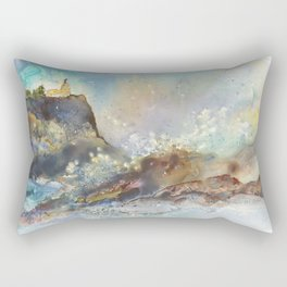 The Splash at Split Rock Rectangular Pillow