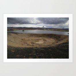 Iceland - Myvatn Art Print
