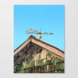 Wind vane Canvas Print
