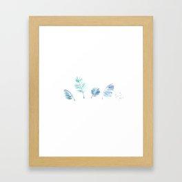 Cold Tropical Framed Art Print