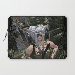 Conquer The Labyrinth Laptop Sleeve