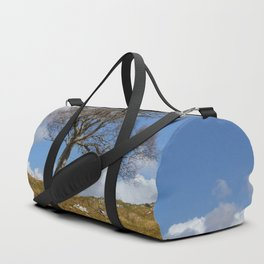 A single tree, Dumfries and Galloway Duffle Bag