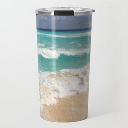 Beach Water Coastal Sand Travel Mug