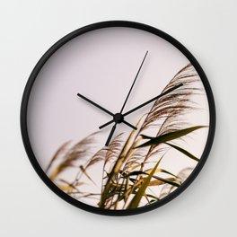 August Breeze #1 Wall Clock