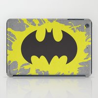 bat man iPad Cases featuring Bat Man by Some_Designs