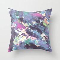 celestial Throw Pillows featuring Celestial by Wendy Ding: Illustration