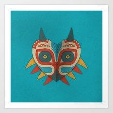 A Legendary Mask Art Print