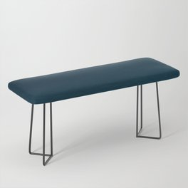 Navy blue teal hand painted watercolor paint ombre Bench