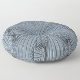Grey patterns Floor Pillow