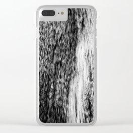 Faux fur photo! Clear iPhone Case