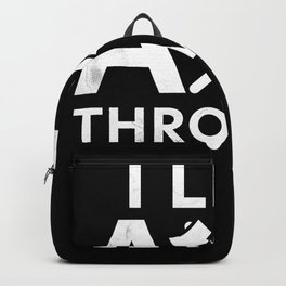 Funny Axe throwing Gift for Axe Thrower Backpack