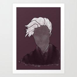 Purple Ghost Art Print