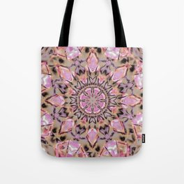 Abstract Flower AA YY QQQQQ Tote Bag
