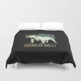 American Bully Duvet Cover