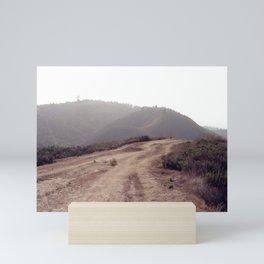Dusty Mountain View Mini Art Print