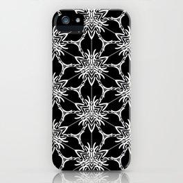 Floral geometric iPhone Case
