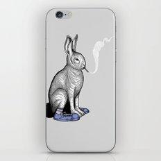 Carrot smoke trick iPhone & iPod Skin