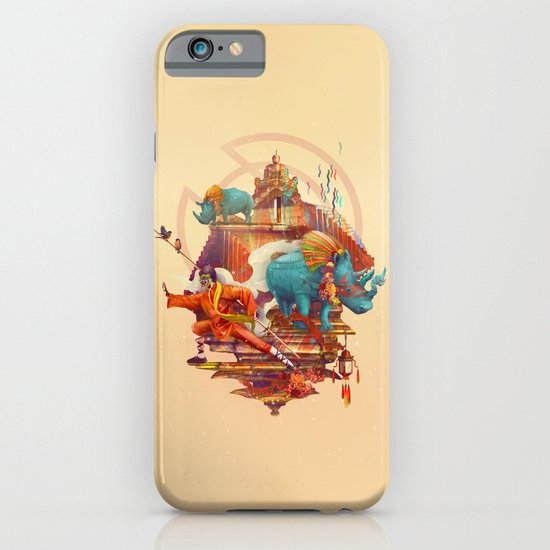 rhinos stone iPhone & iPod Case