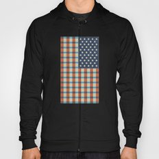 Plaid Flag. Hoody