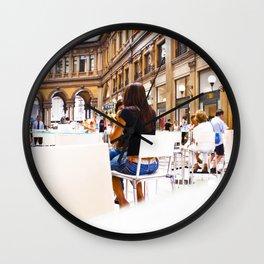 italy - rome - vacanze romane_23 Wall Clock