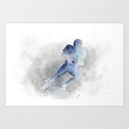 American Footballer 1 Art Print