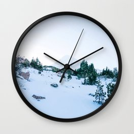 Cold Hearted Beauty Wall Clock