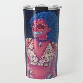 Calavera Lady Travel Mug