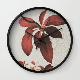 paint the town red Wall Clock