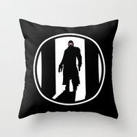 star lord Throw Pillows featuring Star Lord by Comix