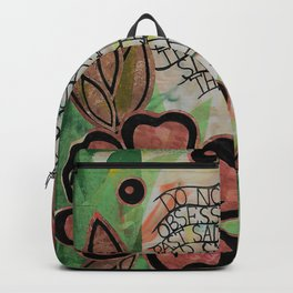 Do not be obsessed with sadness Backpack