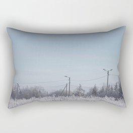 Zone in Winter Rectangular Pillow