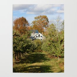 Hope Orchard Farmhouse Poster