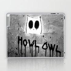 Howl Owl Graffiti Laptop & iPad Skin