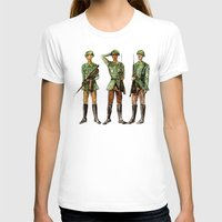 top gun T-shirts featuring Barely Soldiers by Torrinika