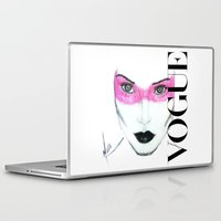 vogue Laptop & iPad Skins featuring Vogue by Maca