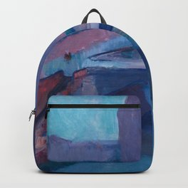 A GLIMPSE OF NOTRE DAME IN LATE AFTERNOON - HENRI MATISSE Backpack