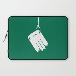 Dropped Monsters At The Rail Station Laptop Sleeve