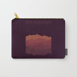 Over The Mountains Carry-All Pouch