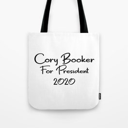 Cory Booker for President Tote Bag