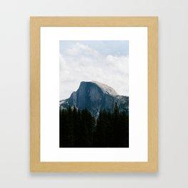 YOSEMITE - HALF DOME Framed Art Print