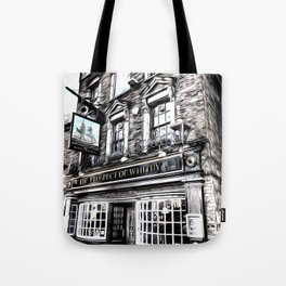 The Prospect Of Whitby Pub Art Tote Bag
