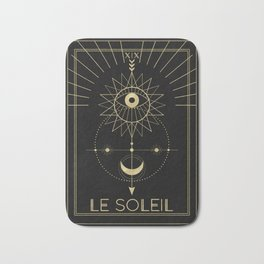 Le Soleil or The Sun Bath Mat