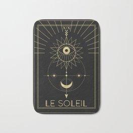 Le Soleil or The Sun Tarot Bath Mat