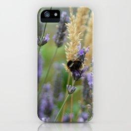 Wild Honey Bee iPhone Case