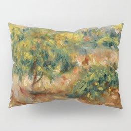 """Auguste Renoir """"Esquisse de paysage à Cagnes"""" Pillow Sham"""