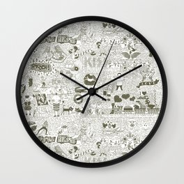 Love Stories Wall Clock