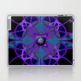 Flower in Purple Laptop & iPad Skin